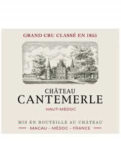 Château Cantemerle 2015 Original wooden case of 12 bottles (12x75cl)