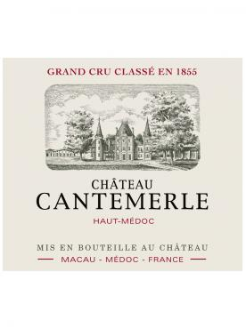 Château Cantemerle 2010 Original wooden case of one magnum (1x150cl)