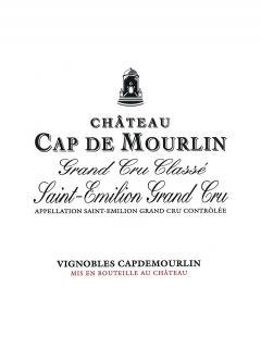 Château Cap de Mourlin 2015 Original wooden case of 6 bottles (6x75cl)