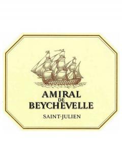 Amiral de Beychevelle 2018 Original wooden case of 6 bottles (6x75cl)