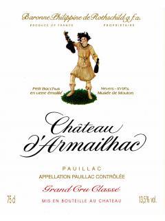 Château d'Armailhac 1947 Bottle (75cl)