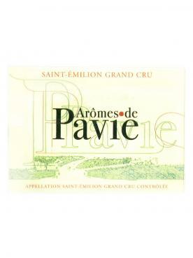 Arômes de Pavie 2015 Original wooden case of 3 bottles (3x75cl)
