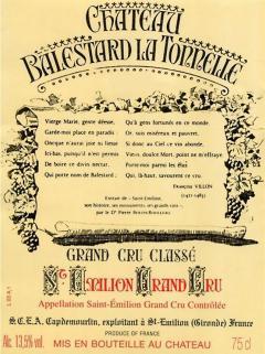 Château Balestard La Tonnelle 2014 Original wooden case of 6 bottles (6x75cl)