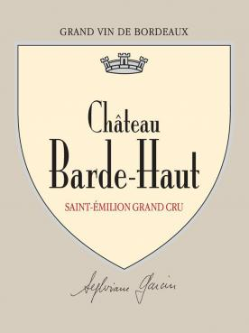 Château Barde-Haut 2018 Original wooden case of 6 bottles (6x75cl)