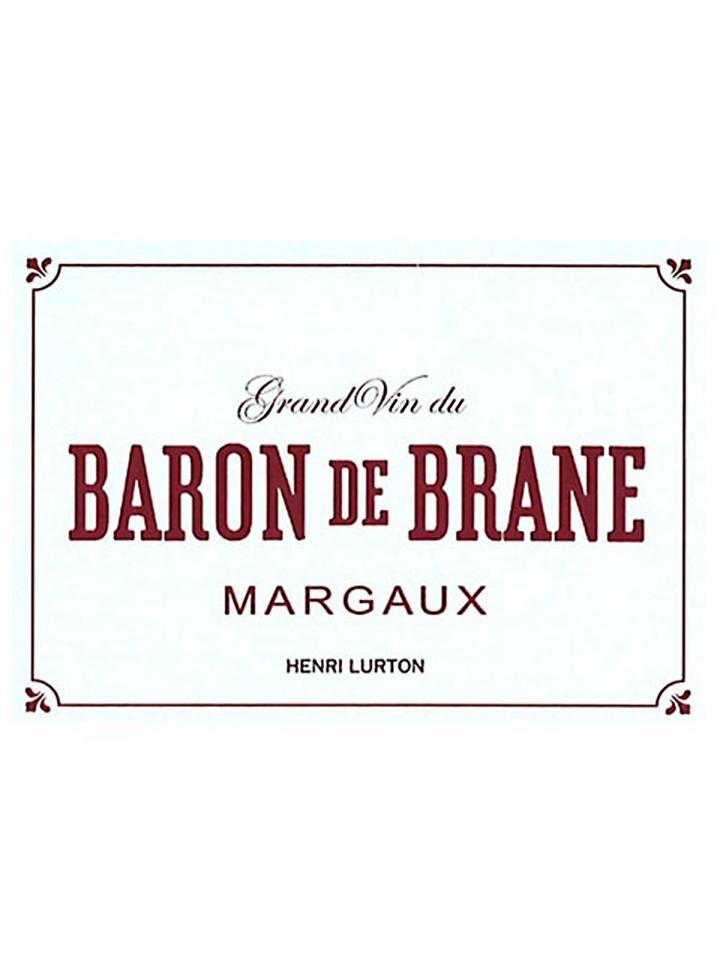 Baron de Brane 2016 Original wooden case of 6 bottles (6x75cl)