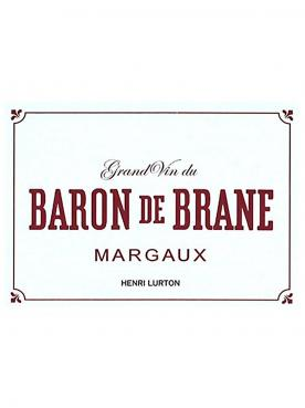 Baron de Brane 2017 Original wooden case of 6 magnums (6x150cl)