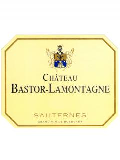 Château Bastor Lamontagne 2015 Original wooden case of 12 half bottles (12x37.5cl)