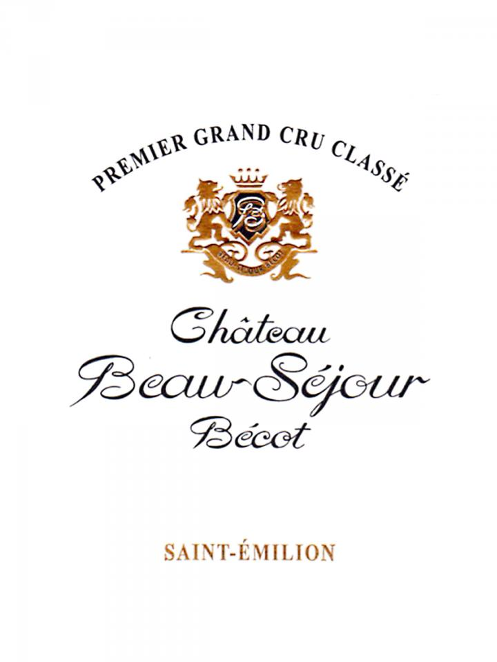 Château Beau-Séjour Bécot 1998 Original wooden case of 12 bottles (12x75cl)