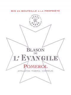 Blason de l'Evangile 2015 Original wooden case of 6 bottles (6x75cl)