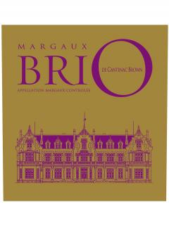 Brio de Cantenac Brown 2014 Original wooden case of 12 bottles (12x75cl)