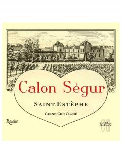 Château Calon-Ségur 2004 Original wooden case of 12 bottles (12x75cl)