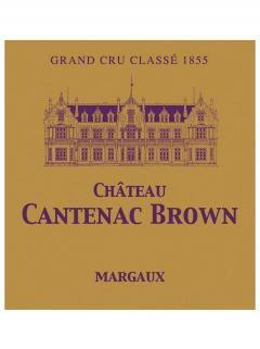 Château Cantenac Brown 2017 Original wooden case of 12 bottles (12x75cl)