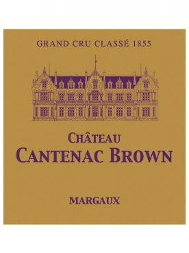 Château Cantenac Brown 2018 Original wooden case of 6 bottles (6x75cl)