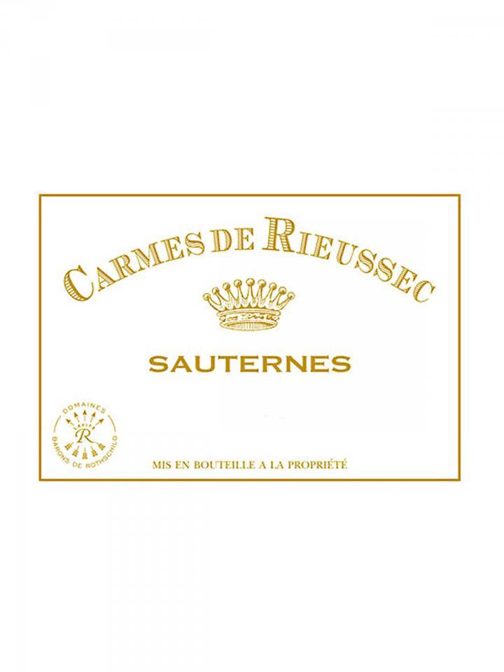 Carmes de Rieussec 2009 Original wooden case of 12 bottles (12x75cl)