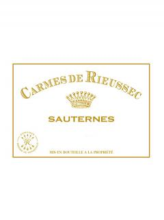 Carmes de Rieussec 2013 Original wooden case of 12 bottles (12x75cl)