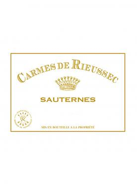 Carmes de Rieussec 2018 Original wooden case of 12 half bottles (12x37.5cl)