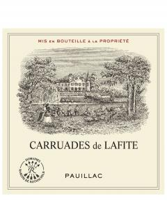 Carruades de Lafite 2017 Original wooden case of 6 bottles (6x75cl)