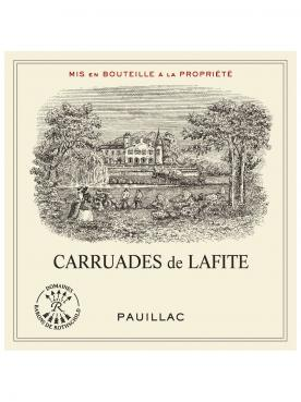 Carruades de Lafite 2014 Original wooden case of 6 bottles (6x75cl)