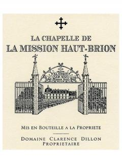 La Chapelle de la Mission Haut-Brion 2011 Original wooden case of 12 bottles (12x75cl)