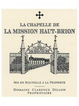 La Chapelle de la Mission Haut-Brion 2016 Original wooden case of 6 bottles (6x75cl)