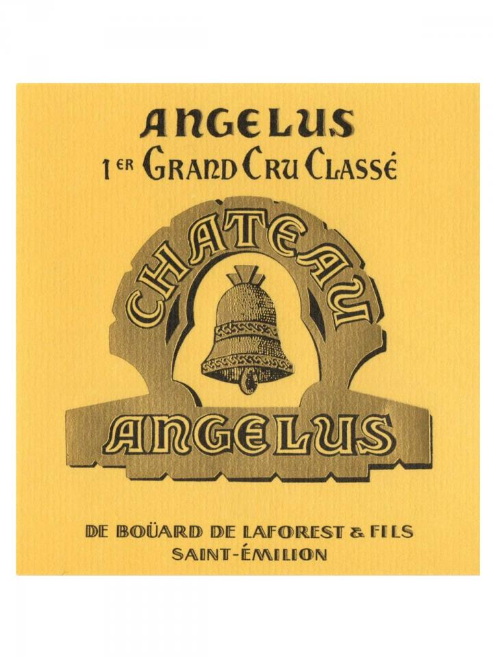 Château Angélus 2012 Original wooden case of 1 bottle (1x75cl)