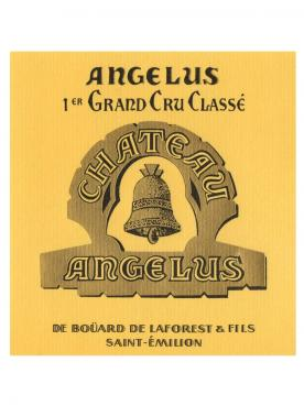 Château Angélus 2014 Original wooden case of 6 bottles (6x75cl)