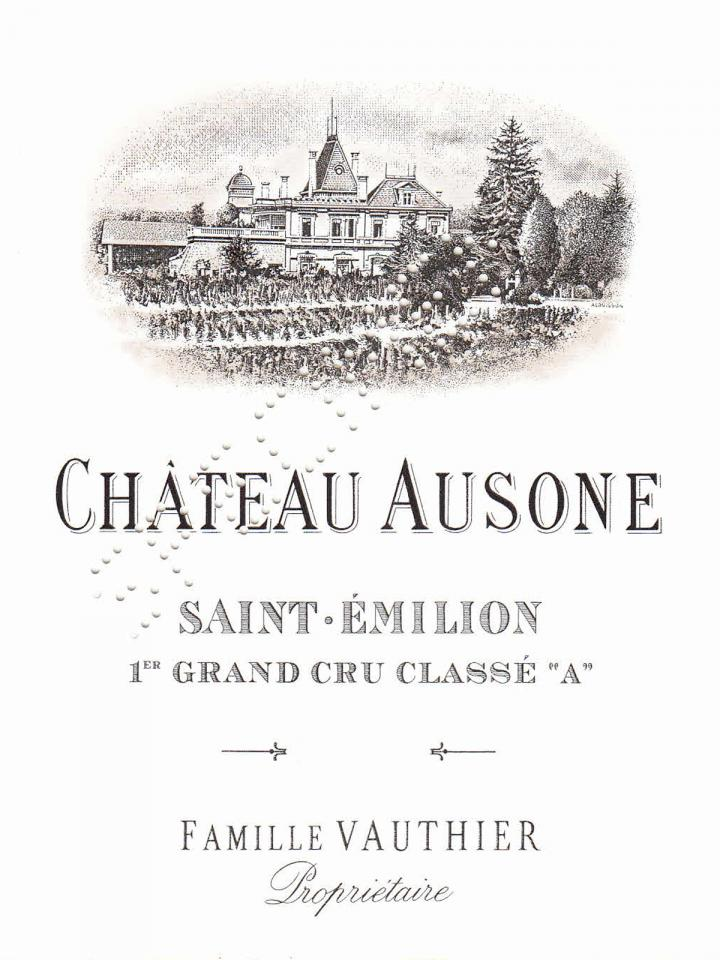 Château Ausone 2007 Original wooden case of 6 magnums (6x150cl)