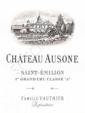 Château Ausone 2014 Original wooden case of 1 bottle (1x75cl)