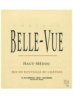 Château Belle-Vue (Haut-Médoc) 2013 Original wooden case of 12 bottles (12x75cl)