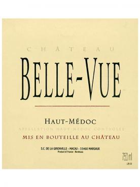 Château Belle-Vue (Haut-Médoc) 2014 Original wooden case of 12 bottles (12x75cl)