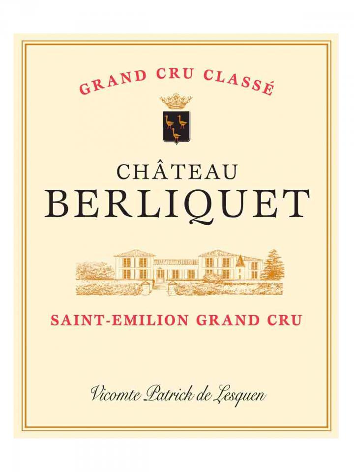 Château Berliquet 2017 Original wooden case of 6 bottles (6x75cl)