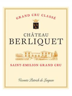 Château Berliquet 2008 Original wooden case of 12 bottles (12x75cl)