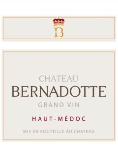 Château Bernadotte 2012 Original wooden case of 12 bottles (12x75cl)