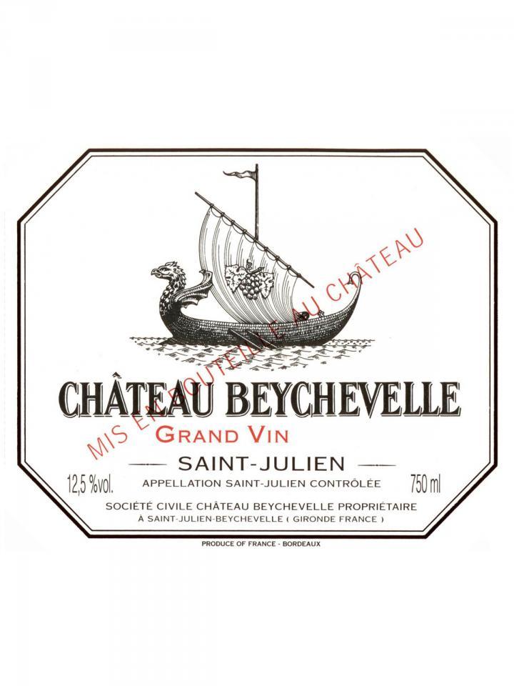 Château Beychevelle 1952 Bottle (75cl)