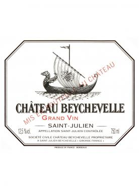 Château Beychevelle 1982 Original wooden case of 12 bottles (12x75cl)