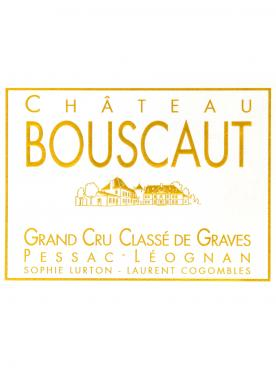 Château Bouscaut 2016 Original wooden case of 6 bottles (6x75cl)