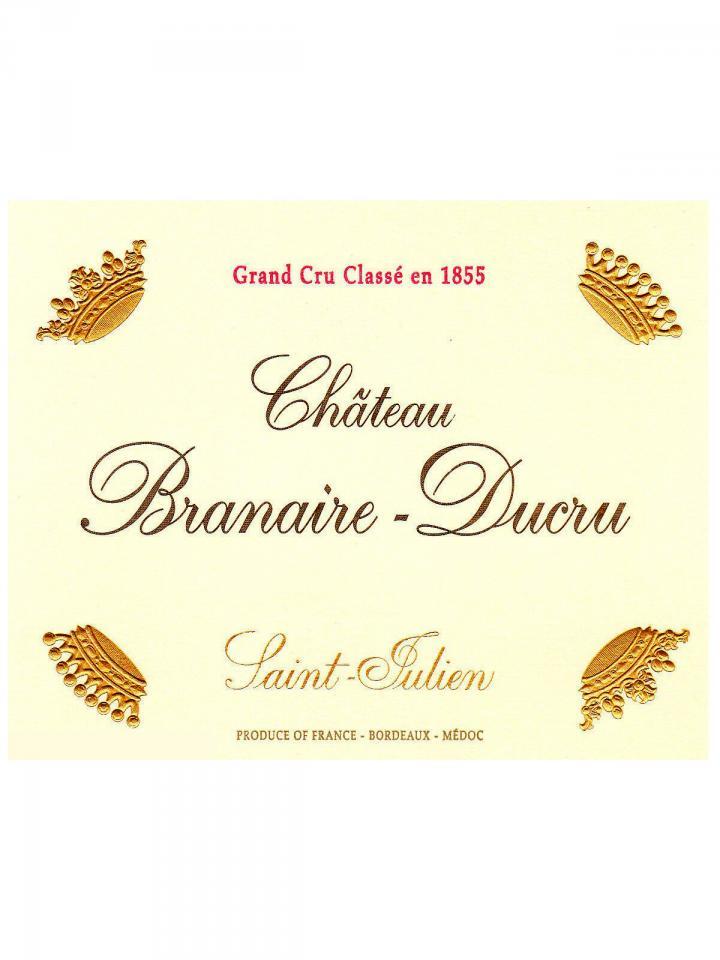 Château Branaire-Ducru 2012 Original wooden case of 12 bottles (12x75cl)