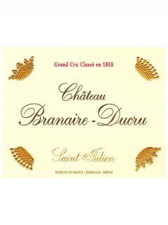 Château Branaire-Ducru 2009 Original wooden case of 12 bottles (12x75cl)