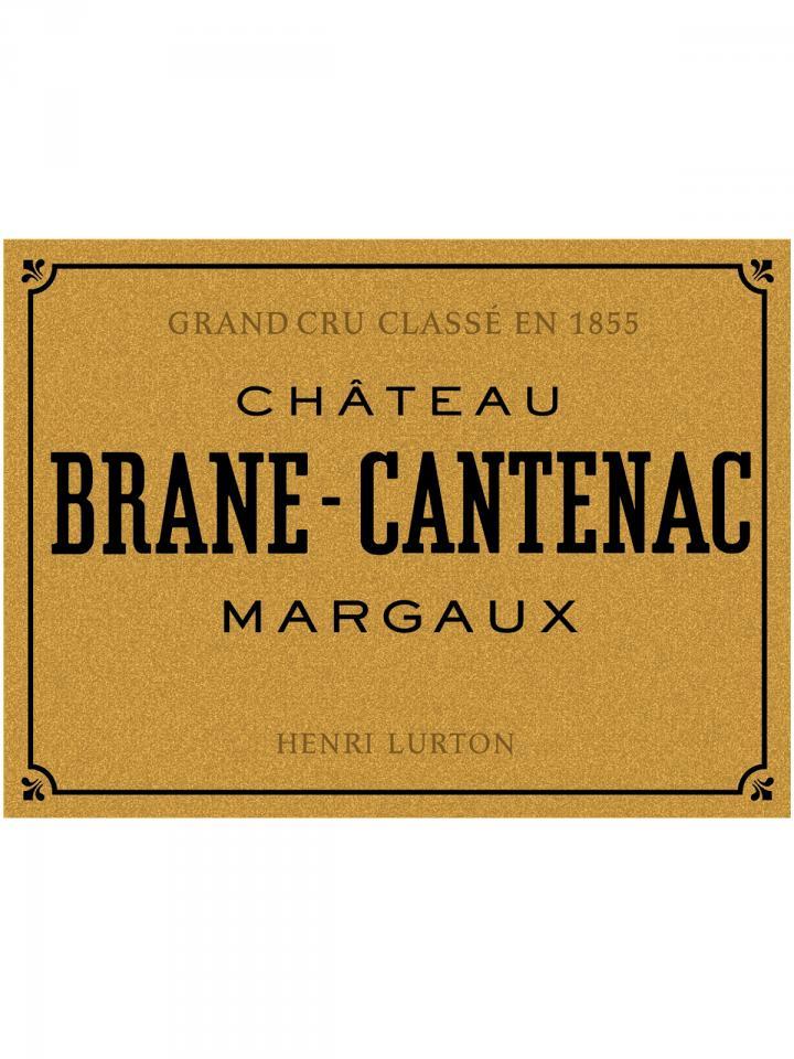 Château Brane-Cantenac 2014 Original wooden case of 12 bottles (12x75cl)