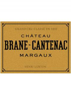 Château Brane-Cantenac 2014 Original wooden case of 12 bottles (12x75cl)