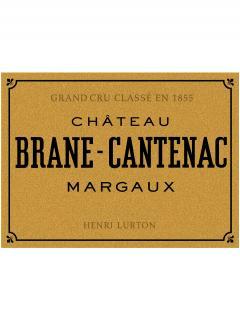 Château Brane-Cantenac 2018 Original wooden case of 12 bottles (12x75cl)