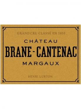 Château Brane-Cantenac 2018 Original wooden case of 3 magnums (3x150cl)