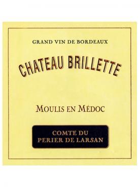 Château Brillette 2018 Original wooden case of 12 bottles (12x75cl)