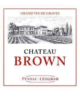 Château Brown 2014 Original wooden case of 12 bottles (12x75cl)