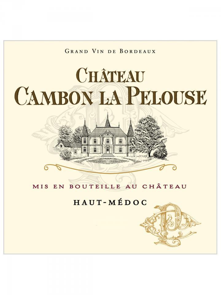 Château Cambon La Pelouse 2018 Original wooden case of 6 magnums (6x150cl)