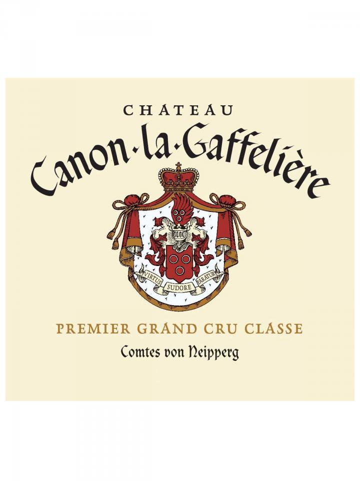 Château Canon-La-Gaffelière 2006 Original wooden case of 12 bottles (12x75cl)