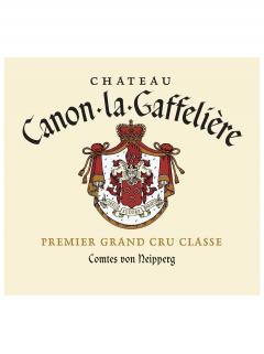 Château Canon-La-Gaffelière 1996 Original wooden case of 12 bottles (12x75cl)