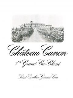 Château Canon 2014 Original wooden case of 12 bottles (12x75cl)