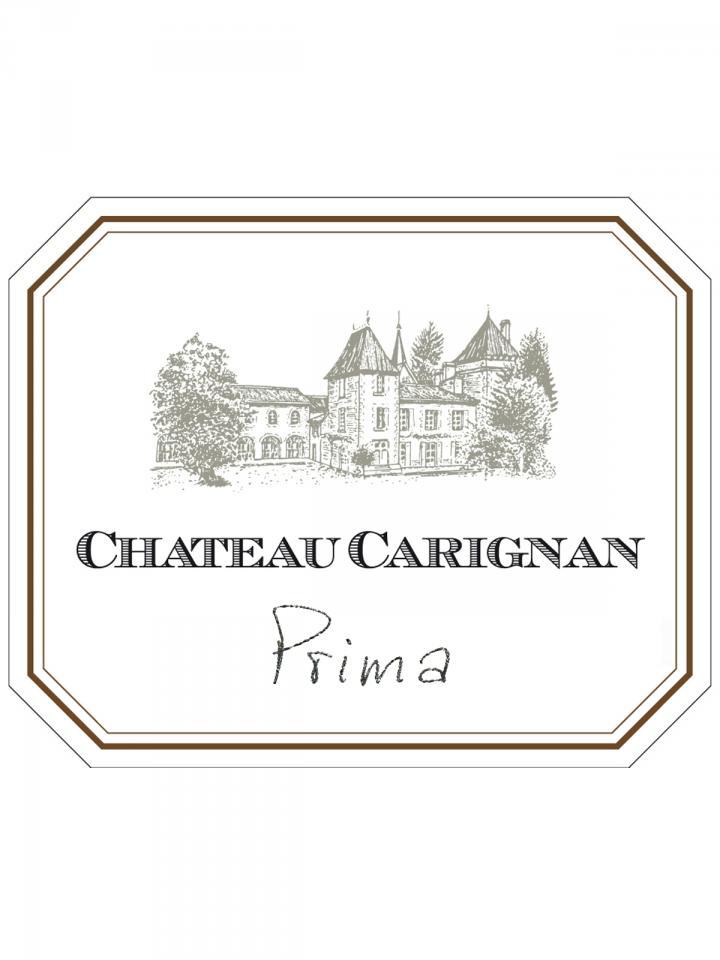 Château Carignan Prima 2017 Original wooden case of 12 bottles (12x75cl)