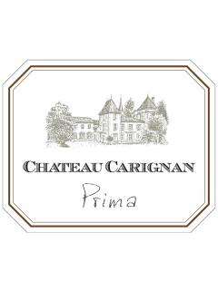 Château Carignan Prima 2015 Original wooden case of 12 bottles (12x75cl)